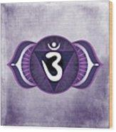 Third Eye Chakra Wood Print by David Weingaertner