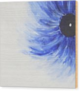 Third Eye-ris Wood Print