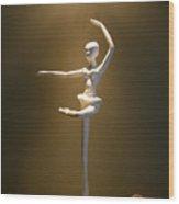 Third Position Wood Print