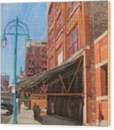 Third Ward - Broadway Awning Wood Print