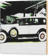 Thirties Packard Limo Wood Print