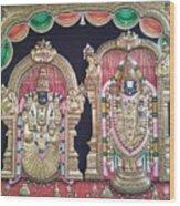 Thirupathi Wood Print