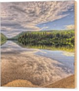 This Is British Columbia No.28 - Conkle Lake Wood Print