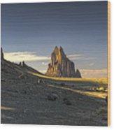 This Is New Mexico No. 2 - Shiprock World Wonder Wood Print