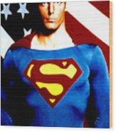 This Is Superman Wood Print
