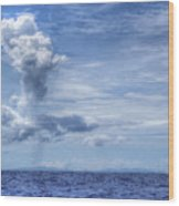 This Is The Philippines No.11 - Towering Clouds Wood Print