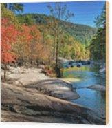 This Is Wilson Creek Wood Print