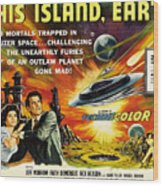 This Island Earth, Faith Domergue, Rex Wood Print