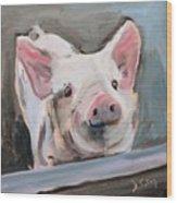 This Little Piggy Wood Print