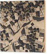 This Old Salt Slab Town In Dirkou Wood Print