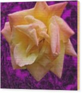 This Rose For You Wood Print