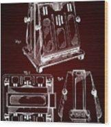 Thomas A. Edison Jr. Toaster Patent 1933 2 Wood Print