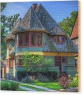 Thomas G. Hale House Wood Print