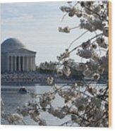 Thomas Jefferson Wood Print