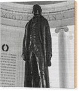 Thomas Jefferson Memorial Wood Print