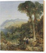 Thomas Moran Wood Print