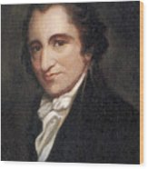 Thomas Paine, American Founding Father Wood Print
