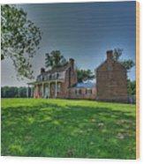 Thomas Stone House Wood Print