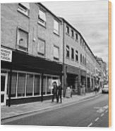 thomas street in the Northern quarter Manchester uk Wood Print