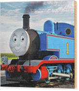 Thomas The Train Wood Print