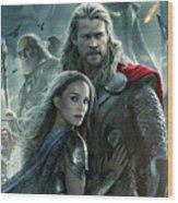 Thor 2 The Dark World 2013 Wood Print