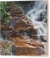 Thoreau Falls - White Mountains New Hampshire  Wood Print by Erin Paul Donovan