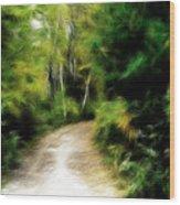Thoreau Woods Wood Print