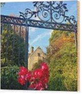 Thorn Gate Wood Print