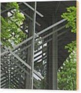 Thorncrown Chapel Eureka Springs Ar Entry Wood Print