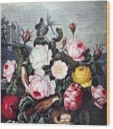 Thornton: Roses Wood Print