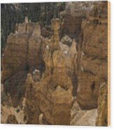 Thors Hammer Wood Print