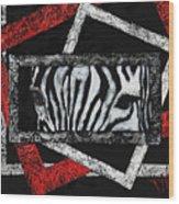 Those Eyes...zebra Wood Print