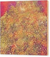 Thousand Happiness Chrysanthemums Wood Print