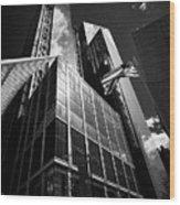 three and four world trade center New York City USA Wood Print