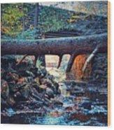 Three Bridges  Wood Print