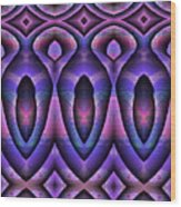 Three Coffins Wood Print