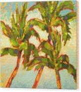 Three Sisters - Keauhou Bay Wood Print