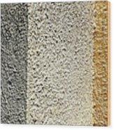 Three Textures Wood Print