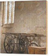 Three Wheels On My Wagon Wood Print