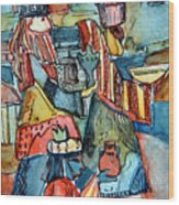 Three Wise Men Wood Print