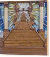 Throne Of Grace Wood Print