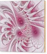 Through Rose-colored Glasses Wood Print