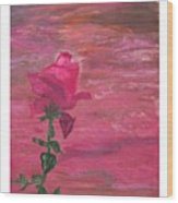 Through Rose Colored Glasses Wood Print