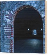 Through The Doorway Wood Print