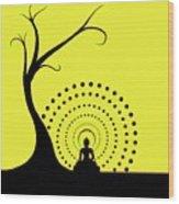 Through The Eye Of Buddhism Wood Print
