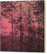 Through The Forest, Rose Wood Print