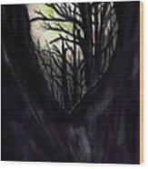 Thru To The Light  Wood Print