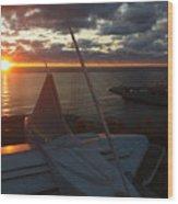 Sunrise @ Lake Wood Print