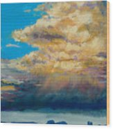 Thundeclouds Wood Print