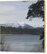 Thunder Mountain Wood Print